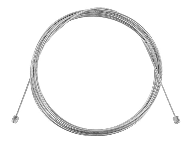 Asista Câble de commande Inox Universal - Câble de dérailleur - 205cm argent